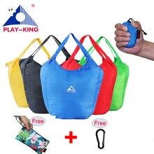 PLAYKING Portable Waterproof Travel Bag Nylon Large Capacity Women Luggage Duffle bag Folding Bags For Lady shopping