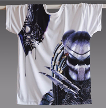 New Summer T Shirt Men Women Alien Vs Predator Avp Cooldry  Tshirt Video Game Tops Camisetas Clothing Man Casual