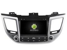 NAVIRIDER Eight Core 4GB RAM Android 6.0.1 car multimedia player for HYUNDAI TUCSON ix35 2016 car dvd gps BT radio stereo USB