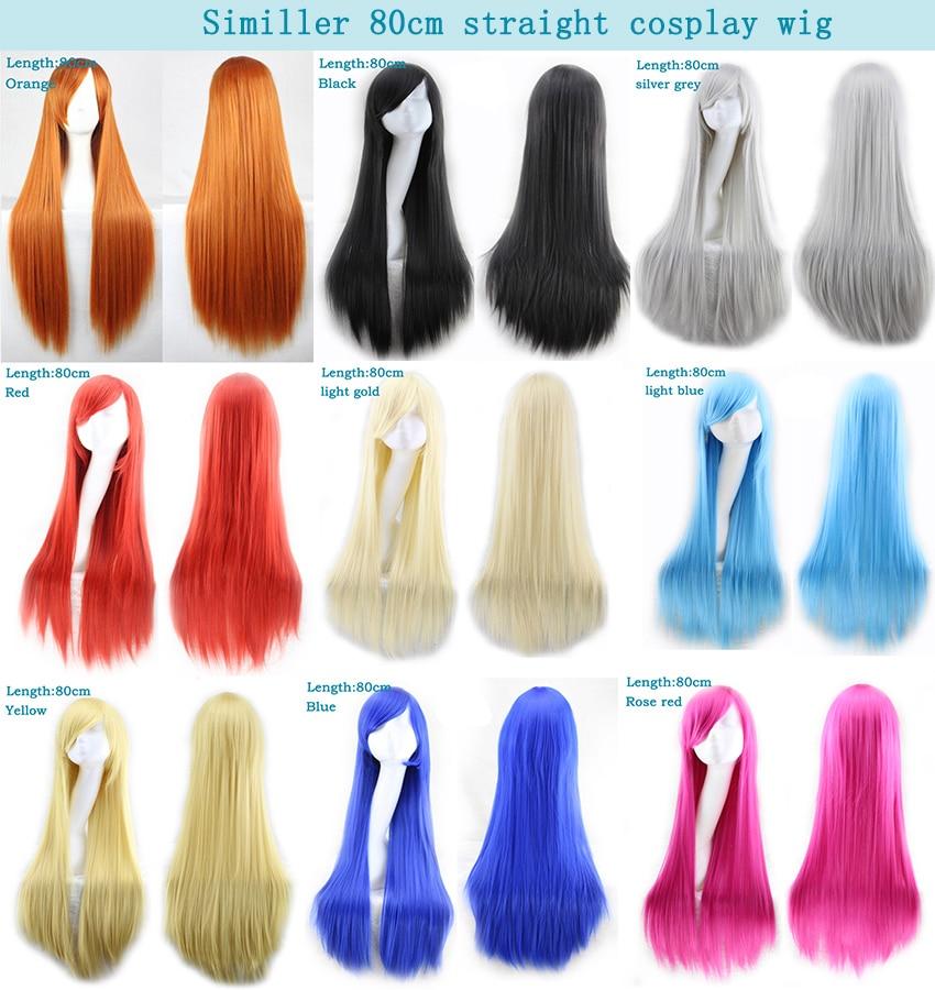 Long Straight Women's Wigs 12