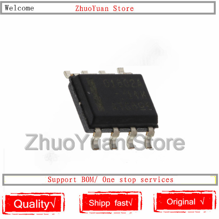 1PCS/lot New Original OPA1602AIDR OPA1602AID O1602 OPA1602 SOP8 IC Chip