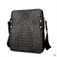 Jialante Crocodile True Alligator Skin Men S Single Shoulder Bag Business Casual Bag Business Casual Bag