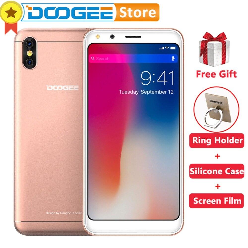 doogee  gb gb  smartphone android  mtm quad core mp rear cameras mah