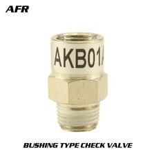 SMC type connector series AKB-01A-01S 1/8 AKB-02A-02S 1/4 AKB-03A-03S 3/8 Bushing check valve B AKB-04A-04S 1/2