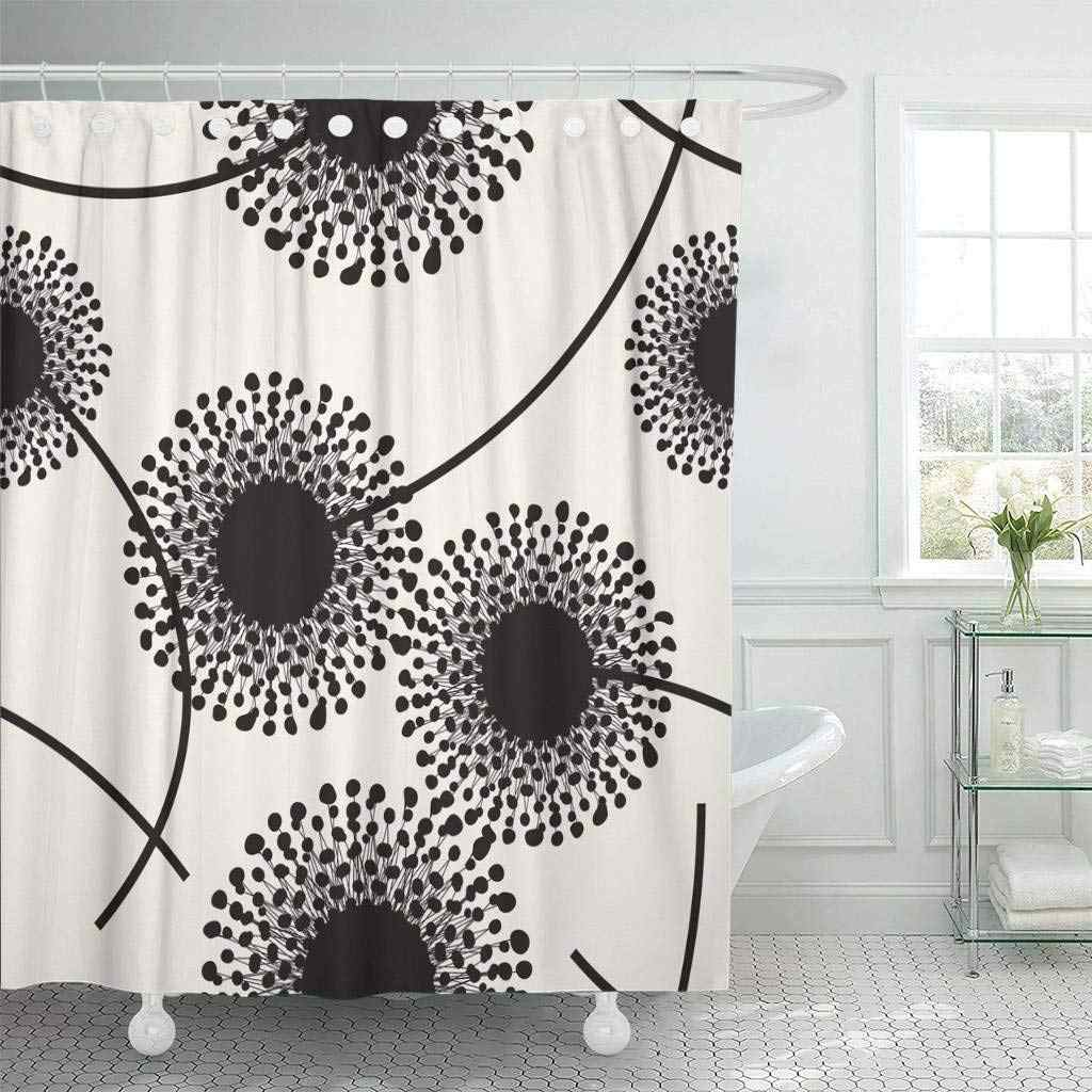 Shower Curtain With Hooks Contemporary
