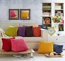 Dreieckige Rückenlehne Kissen Für Sofa Kissen Für Bett Dicke Cord Kissen Zurück Unterstützung S L Größe 7 Farben Erhältlich