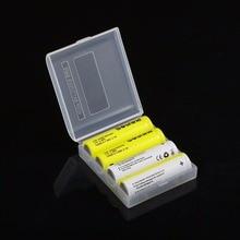 4 шт. Soshine 14500 Batteria 3,7 В 900 мАч батареи Перезаряжаемые литий-ионный Батарея с коробкой для светодио дный фонарик дистанционного Управление игрушка