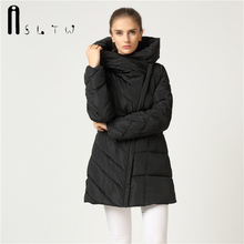 Wadded Coat 2016 New Womens Winter Cotton Hooded Jacket Long Sleeve Solid Plus Size Parkas Coats