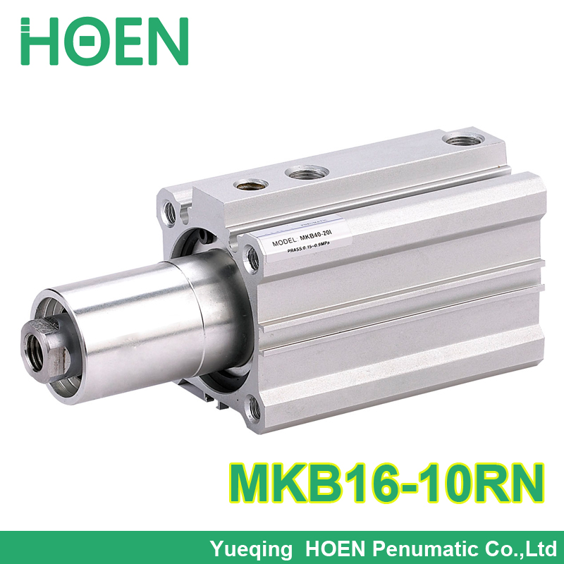 MKB16-10RN 16mm bore 10mm stroke  SMC Type Rotary Clamp air pneumatic Cylinder MKB Series MKB16*10RN