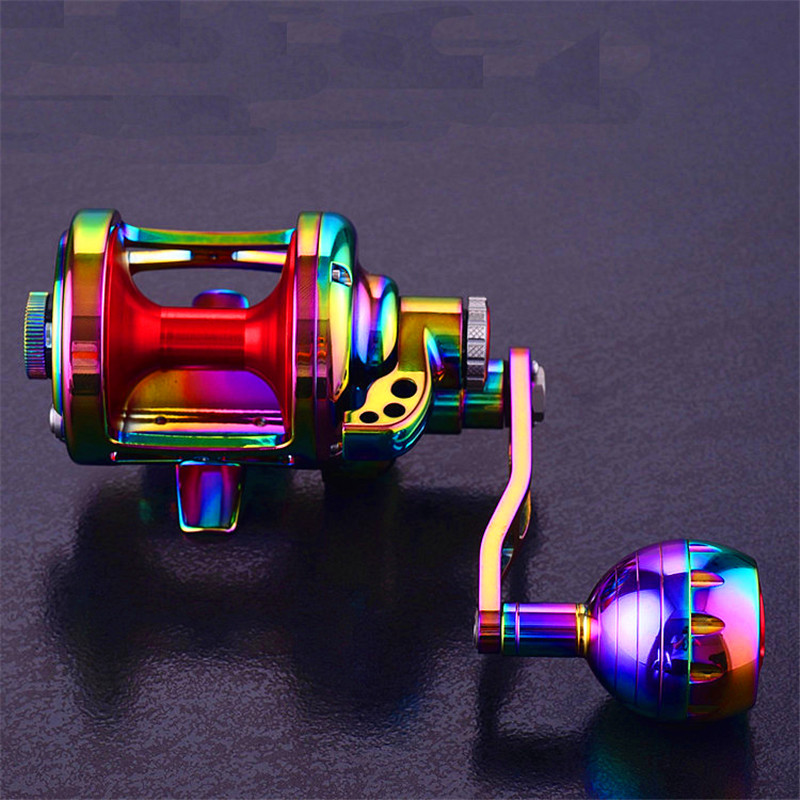 Spinning Trolling Fly Fishing Reel 20KG Drag Power Freshwater Saltwater Baitcasting For Sea Fishing Boat Full Metal Drum Wheel