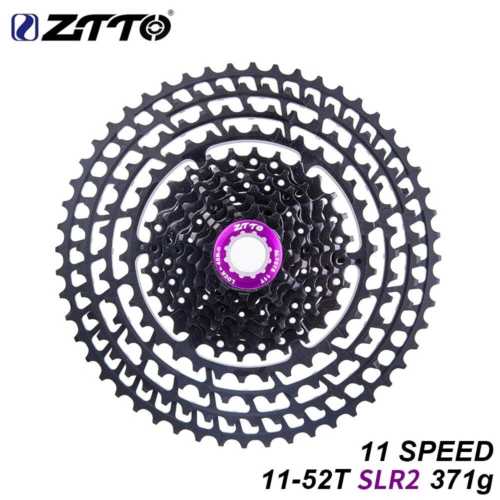 ZTTO 11 s 11-52 T SLR2 vtt vélo Cassette 11 vitesses rapport large ultra-léger 371g CNC roue libre VTT pièces pour X 1 9000