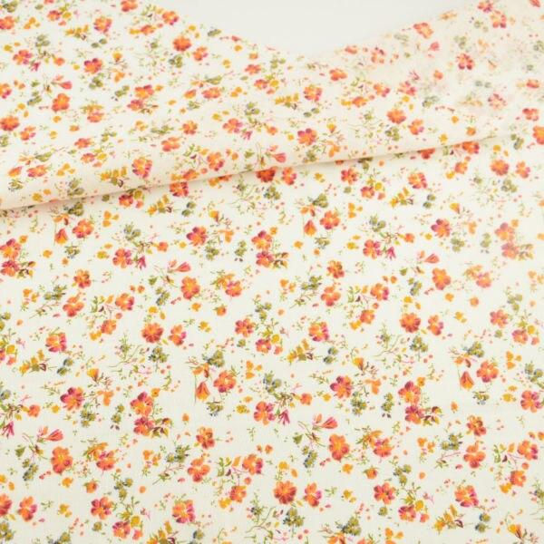 100% Cotton Fabric Flower Designs Patchwork Doll Scrapbooking Home Textile Sewing Clothing Meter Quarter Tissue Telas Tecido CM craft