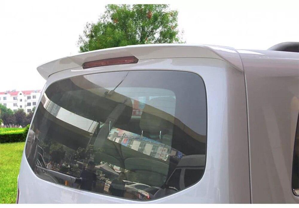 MONTFORD ABS Plastic Unpainted Primer Color Rear Trunk Boot Wing Spoiler For Mercedes Benz Vito V260 V260L V-CLASS 2016-2018 for hyundai elantra spoiler 2012 2013 2014 2015 car tail wing decoration abs plastic unpainted primer rear trunk spoiler