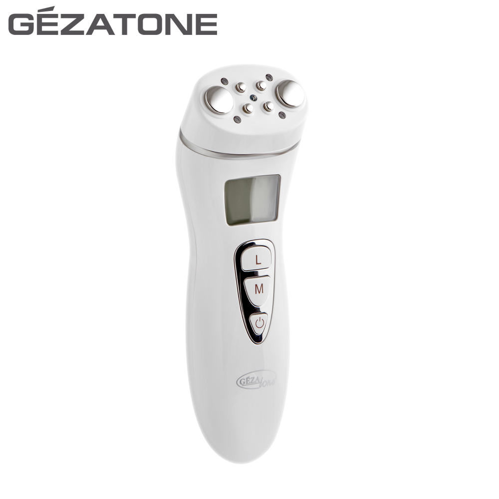 Microcurrent Face Massage Device Gezatone 1301117 slimming cellulite correction facial lift RF lifting massager rf led cavitation ultrasonic body slimming massager anti cellulite belly arms fat burner lipo radio frequency machine ultrasound