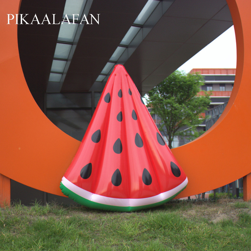 PIKAALAFAN Inflatable Float Small Watermelons Float PVC Float Row Of Watermelons Swimming  Water Floating Bed Ring Water Toy