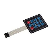 4*3 Matrix Array 12 Key Membrane Switch Keypad Keyboard for Arduino AVR PI C