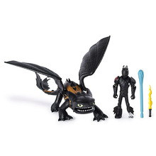 Dragon Toothless Action figure Light Fury Toys For Childrens Birthday Gifts