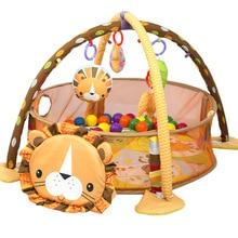 Kids Rug Toys Developing Lion Baby Play Mat 0-1 Year Children Child Carpet Playmat Gym Carpet Crawling Baby Floor Mat 3-In-1 Toy недорого