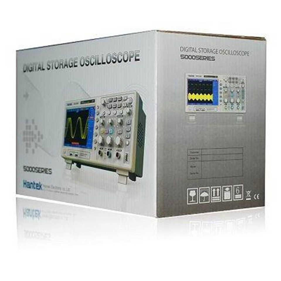 Hantek DSO5072P/DSO5102P/DSO5202P Oscilloscope de stockage numérique 2 canaux 1gsa/s 7 ''Tft Lcd mieux que-annonces 1102cal