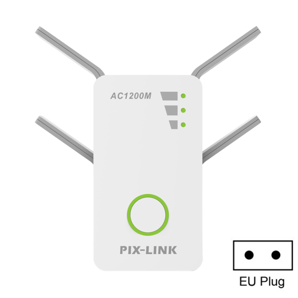 WiFi Repeater 2.4G / 5G WiFi Signal Booster Dual Band AP 1200Mbps Wireless Extender Router Amplifier