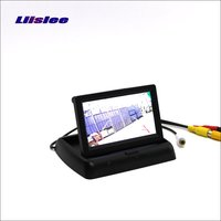 For Land Rover Discovery 3 4 Foldable Car HD TFT LCD Monitor Screen Display 4 3