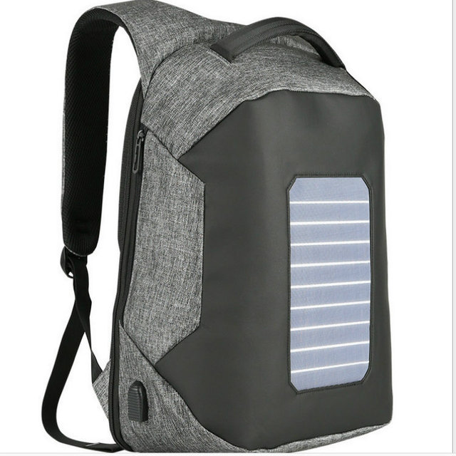 Solar Charging Anti-theft Backpack 15.6 inch Laptop  1