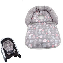 Newborn Infant Baby Stereotype Pillow Folding Pillow for Baby Cart and Rockers Neck Head Cushion Protection Pillow 30%off