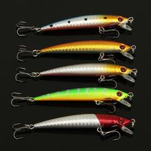 Bobing 56Pcs/lot Almighty Mixed Fishing Lure Bait Set Wobbler Crankbait Swimbait With Treble Hook Minnow Bait Carp Fish Spinners