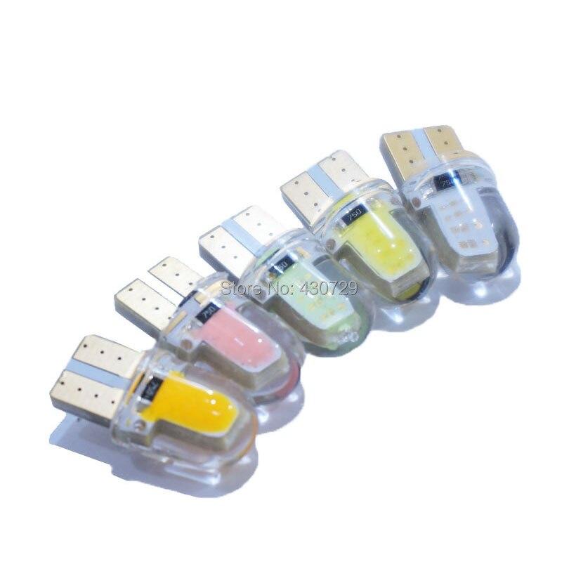 10х Т10 cob из светодиодов canbus W5W и 501 168 194 12V светодиодные интерьера лампы освещения номерного знака габаритные огни стайлинга автомобилей