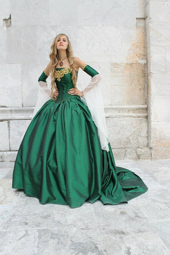 Top Sale Historical Victorian Dress Miranda Medieval Corset Gown ...