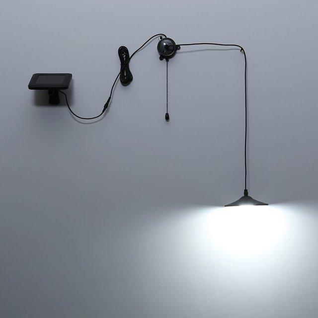 Ongebruikt 4 LEDs Zonne energie Plafondlamp Rvs met Afstandsbediening Heldere MG-06