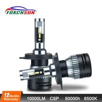 Car headlight LED h7 H4 LED car Bulbs 12V H1 H3 H11 9005 HB3 9006 HB4 H15 9012 Hir2 Turbo CSP Mini Car headlamp 12V 24V 10000LM