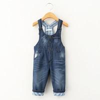 New Design Bobo Choses Newborn Jeans Baby Overalls Denim Spring Autumn Pocket Jumpsuit Bib Children S