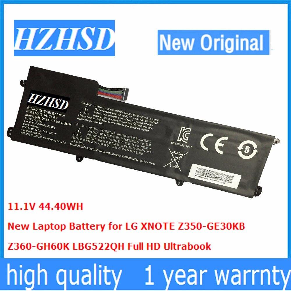 11.1V 44.40WH New Original LBG522QH Laptop Battery for LG XN