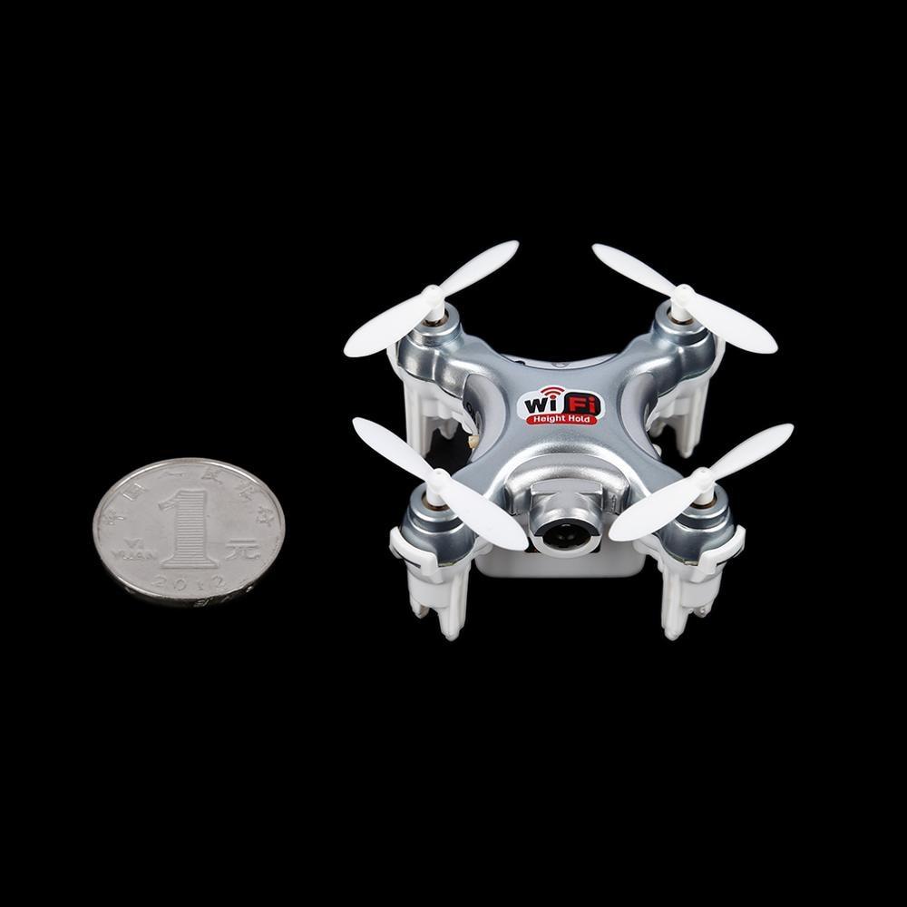 RCmall RCmall Airplane2.4Ghz FPV Quadcopter Mini Drone RC 4 Canales Giroscopio d