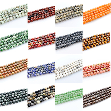 8MM 48 Pieces/Strand Round Natural Stone Beads For Jewelry Making Mixed Loose Beads Diy Jewelry Wholesale Accessories H1-Rd-8mm