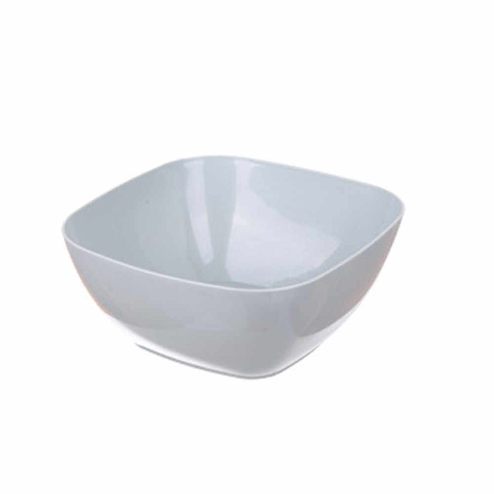 3 Color Food-Grade Plastic Square Fruit Snack Candy Salad Plate Bowl Dish Basket Tableware Fruit Food Bowls Light Weight S*60