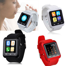 Получить скидку Для iPhone Smart Bluetooth наручные часы Шагомер здоровый Силиконовый Многофункциональный 12 языков Смарт-часы Горячая Seling Оптовая