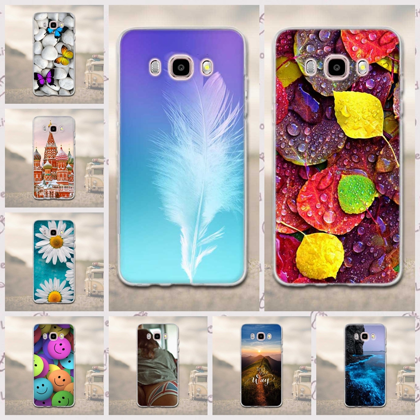 Case for Funda Samsung Galaxy J5 2016 Phone Cases 3D Soft TPU Silicon Cover For Samsung Galaxy J5 (2016) J510F Phone Back Cover