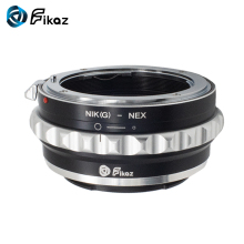 купить Fikaz AI(G)-NEX Lens Mount Adapter Ring For Nikon F AI G Lens to Sony E-mount NEX NEX-3C NEX-3N NEX-5 Alpha a6000 a5000 Camera по цене 1157.57 рублей