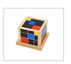 Brinquedo do bebê Formação Matemática Cubo Trinômio