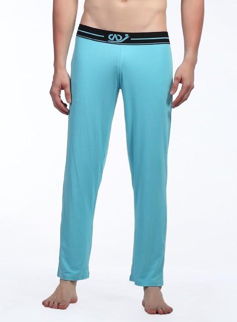 1 unids mens al por mayor pantalones de pijamas de ocio sexy ropa de dormir para hombres pantalones largos pantalones bragas de la ropa interior