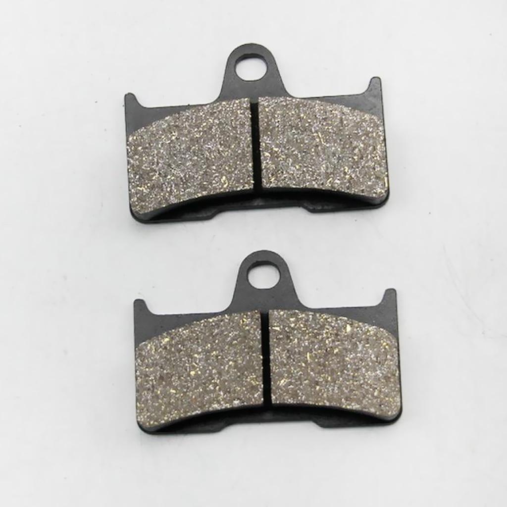6Pcs Motorcycle Bicycle Disc Front Rear Brake Pads Semi-metallic for CFmoto CF500 CF600 X5 X6 X8 U5 ATV UTV Moto Parts Dropship 1