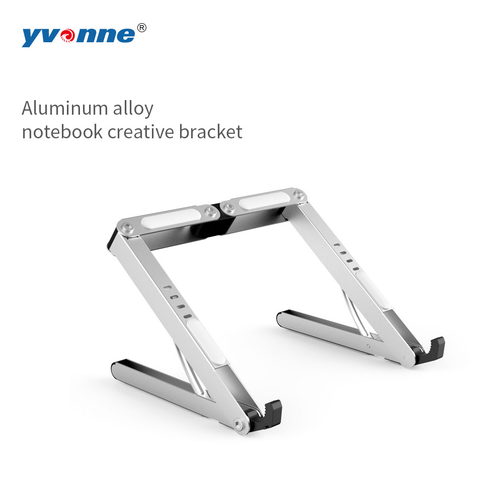 Folding Portable Laptop Stand Viewing Angle/Height Adjustable Quality Aluminum Alloy Bracket Support 11-14inch Notebook