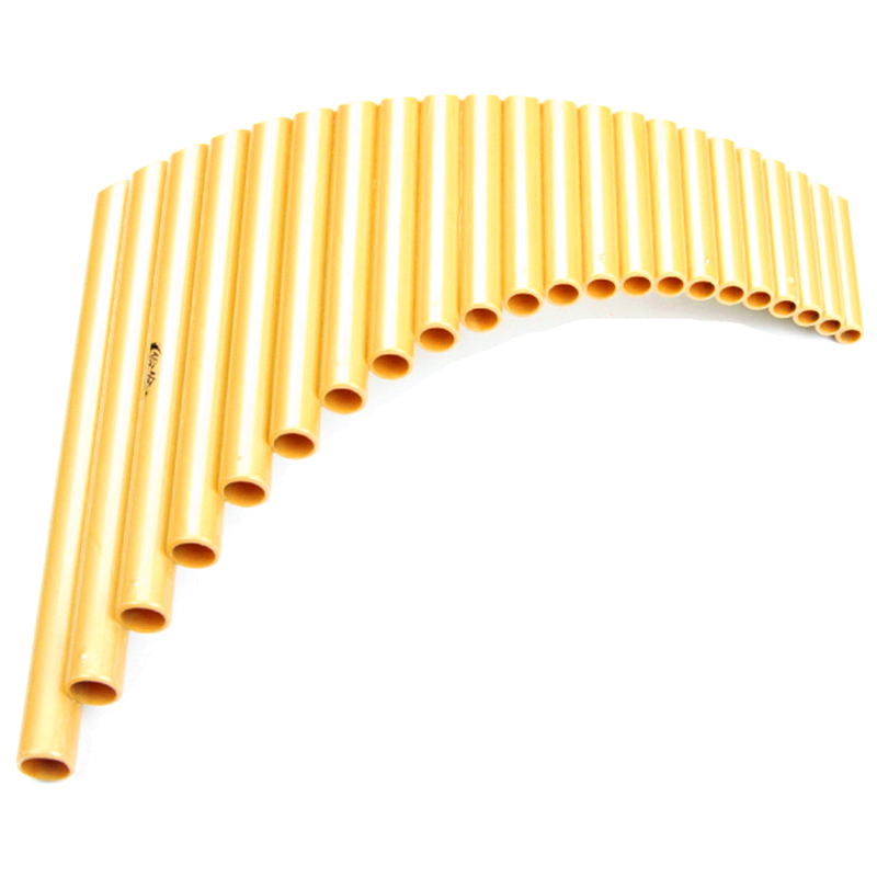 Hot Sell 22 Pipes ABS Plastic Panpipes G Key Pan Pipes Handmade Folk Musical Instruments Pan Flute Right/Left Hand Pan Flutes