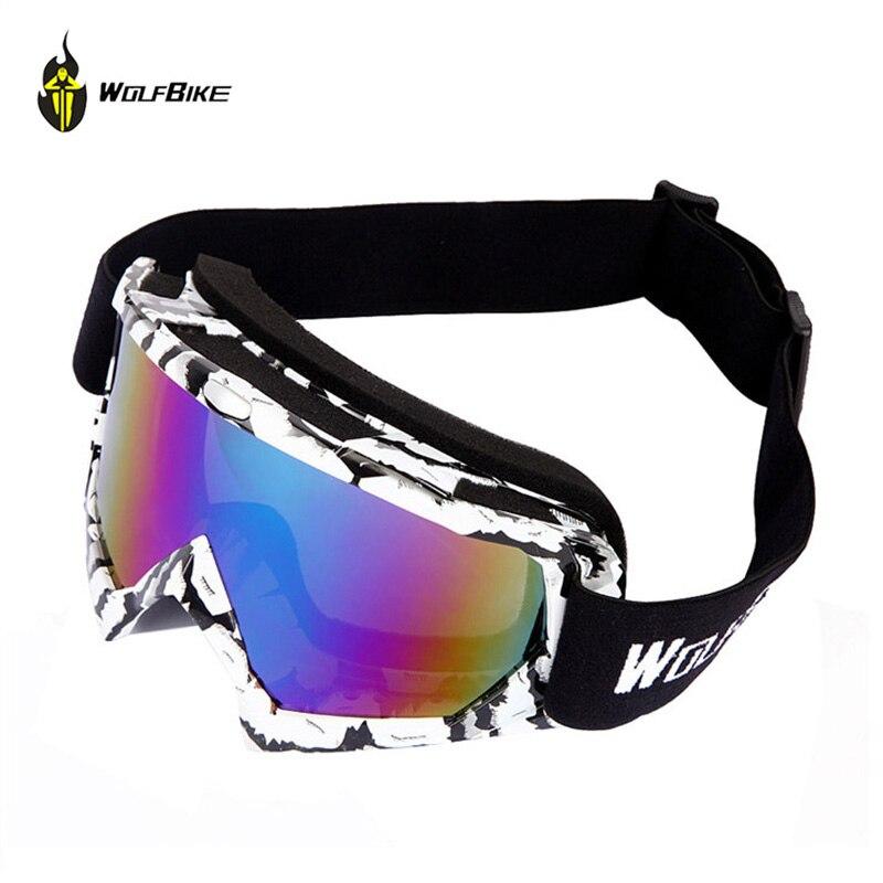 Wolfbike Winter Windproof Bicycle font b Glasses b font Anti uv Sunglasses Goggle font b Men