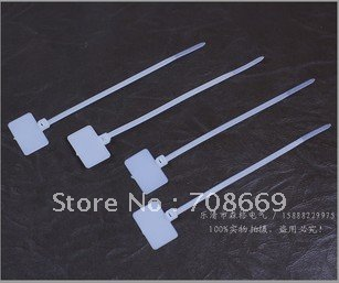 1000 pcs 3mm 100mm numero nylon marcar ties etiqueta para ethernet wire power cab