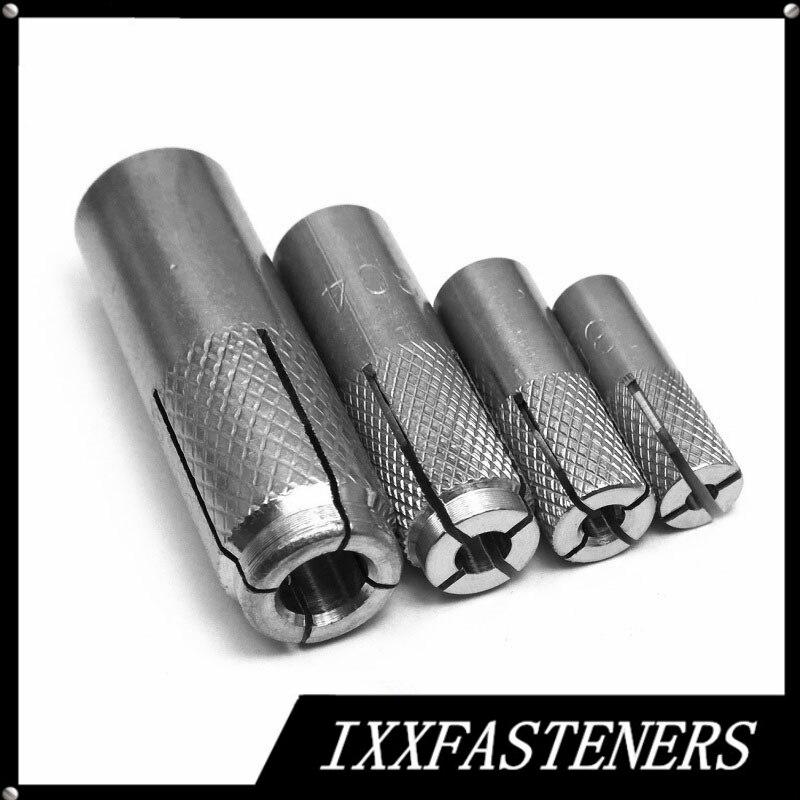 10 unidades Perno de anclaje M12 /Ø 12 mm x L 140 mm acero inoxidable A2 AISI 304 Inox HEAVYTOOL/®