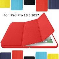 For New IPad 2017 IPad Pro 10 5 Inch Case Ultra Slim Smart Case 3 Folding