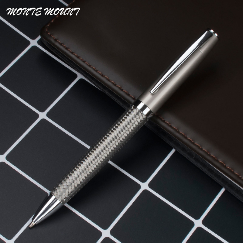 Monte mount Original tresse stylo à bille en métal gel stylo conception Unique papeterie cadeaux usine fournir stylo à bille célèbre marque stylo